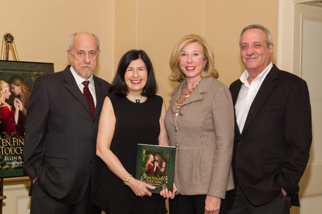 John Blumen, illustrator; Ellen Roth, author; Pat Siger, consultant, United Way; Steve Fine, editor